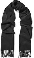 Johnstons of Elgin Cashmere Scarf - Black