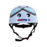 Kiddimoto Blue Goggle helmet
