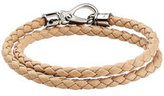 Tod's Braided Leather Bracelet