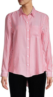 BeachLunchLounge Beach Lunch Lounge Striped Button-Front Shirt