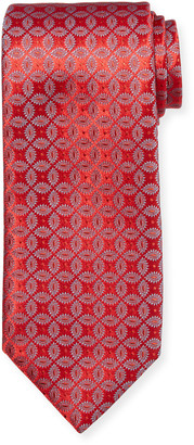 Charvet Men's Floral Medallion Silk Tie