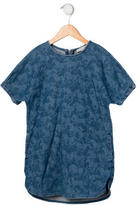 Stella McCartney Girls' Horse Print Denim Dress