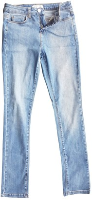 Gerard Darel Blue Cotton Jeans for Women