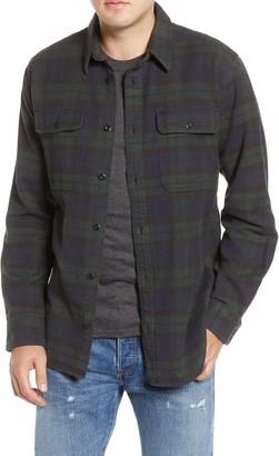 Filson 'Vintage Flannel' Regular Fit Plaid Cotton Shirt
