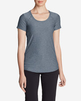 Eddie Bauer Women's Infinity Scoop-Neck Short-Sleeve T-Shirt