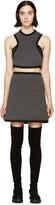 Denis Gagnon Grey Mélange Air Marni Cutout Dress