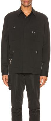 Undercover Long Sleeve Shirt in Black | FWRD