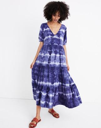 Madewell x Warm Tie-Dye Midi Dress