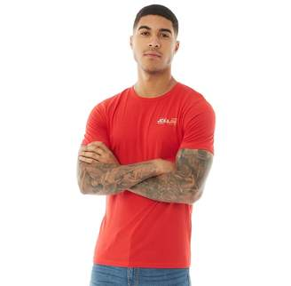 Jack and Jones Mens Gang T-Shirt Chinese Red