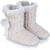 Monsoon Marie Knitted Boot Slippers