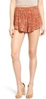 Sun & Shadow Women's Ruffle Hem Shorts