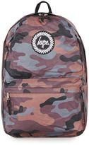 Hype Reversible Camouflage And Plain Backpack*