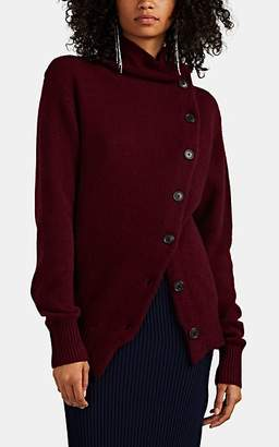 Isabel Marant Women's Chass Asymmetric Cashmere Cardigan - Wine