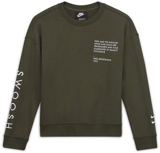 Nike Kids' Sportswear Swoosh Long Sleeve T-Shirt