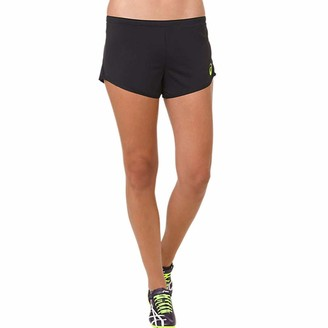 Asics Knit Women's Running Shorts - Medium Black