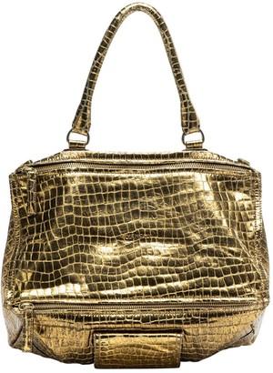 Givenchy Pandora Gold Leather Handbags