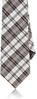 Canali MEN'S PLAID SILK TWILL NECKTIE