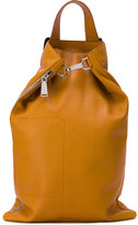 Jil Sander bucket backpack - men - Cotton/Calf Leather - One Size