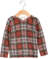 Bonpoint Girls' Wool Plaid Top