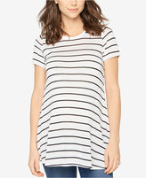A Pea in the Pod Maternity Striped Scoop-Neck Tee
