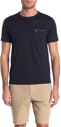 Original Penguin Chambray Trim Pocket T-Shirt