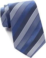 Kenneth Cole Reaction Texture Step Stripe Silk Tie