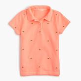 J.Crew Girls' critter polo shirt