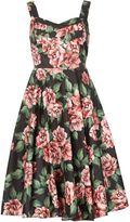 Izabel London Floral Vintage Prom Dress