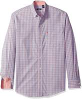 Izod Men's Essential Check Long Sleeve Shirt