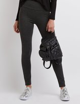 Charlotte Russe High-Rise Ponte Knit Leggings