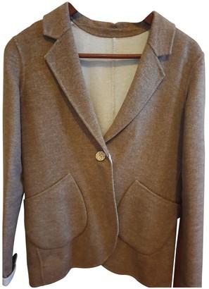 Maliparmi Beige Wool Jacket for Women