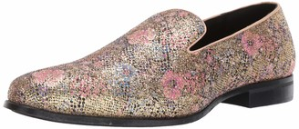 Stacy Adams Men's Swank Glitter Floral Slip-on Loafer