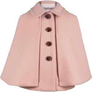 Hucklebones Pale Pink Wool Cape