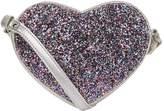Marc Jacobs Glitter Heart Messenger Bag, White, One Size