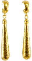 Gurhan Splash 24k Gold Long Drop Earrings