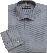 Stacy Adams Granada Patterned French Cuff Dress Shirt