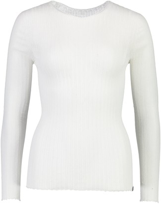 Standard Issue Cotton Tulle Top - White