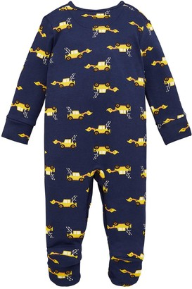 Very Baby Boys Tractor 3 Pack Sleepsuits - Multi