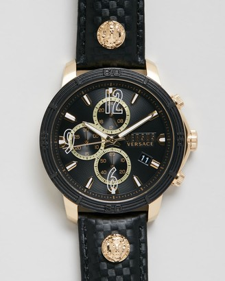 Versus By Versace Men's Black Analogue - Bicocca 46mm - Size One Size at The Iconic