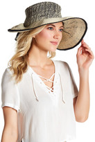 San Diego Hat Company Ombre Pinched Back Floppy Hat
