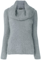 Tom Ford knitted roll-neck sweater - women - Polyamide/Angora - S
