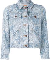 Marc Jacobs Shrunken embellished denim jacket