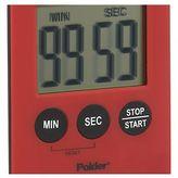 Crate & Barrel Polder ® Mini Red Magnetic Timer
