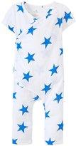 Aden Anais aden anais Kimono Romper (Baby) - Medium Ultramarine Star - 0-3 Months