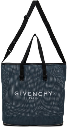 Givenchy Blue Mesh Packable Bag