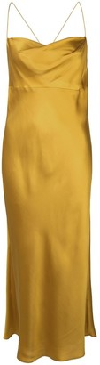 Mason by Michelle Mason Cowl-Neck Bios Midi Dress