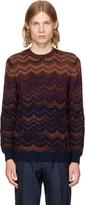 Missoni Red Crewneck Sweater