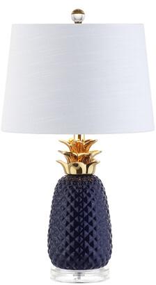 Jonathan Y Designs Pineapple 23In Ceramic Table Lamp