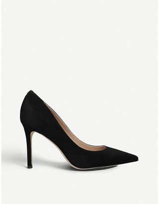 Sam Edelman Hazel suede court shoes