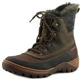 Merrell Sylva Mid Lace Women Round Toe Synthetic Brown Winter Boot.